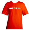 CRUISE CONTROL Men`s Tennis Tee Orange