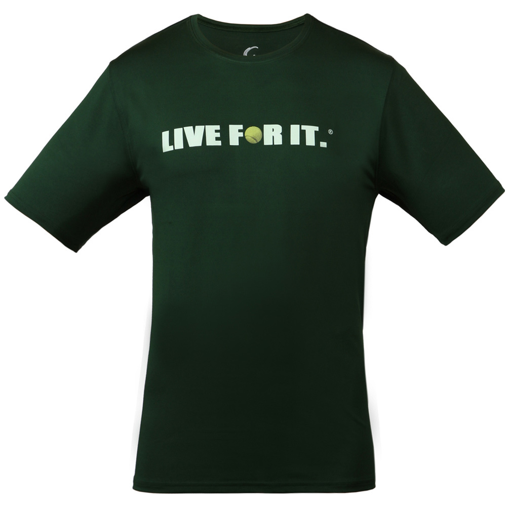 Men's Tennis Tee Forest Green