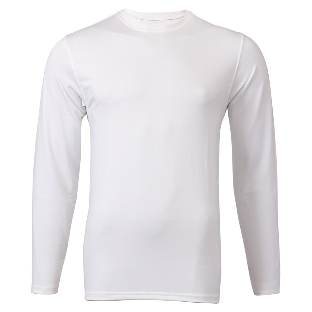 Men's Long Sleeve Tennis Tee White