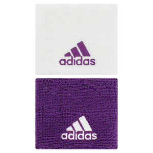 adidas SMALL TENNIS WRISTBAND WHITE/TRIBE PURP