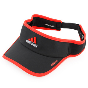 adidas ADIZERO II TENNIS VISOR BLACK/HI RES RED
