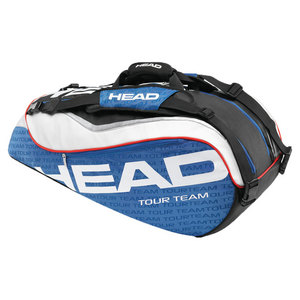 HEAD TOUR TEAM COMBI TENNIS BAG BLUE/WHITE