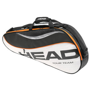 HEAD TOUR TEAM PRO TENNIS BAG BLACK/WHITE
