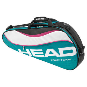 HEAD TOUR TEAM PRO TENNIS BAG TEAL/WHITE