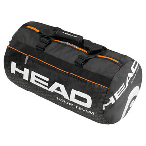 HEAD TOUR TEAM CLUB TENNIS DUFFLE BLACK/ORANG
