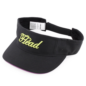 HEAD WOMENS TENNIS VISOR BLACK