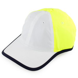 LACOSTE MENS THEME 1 TENNIS CAP WHITE/YELLOW