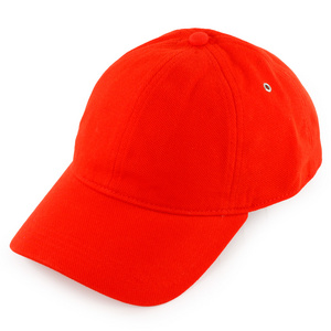 LACOSTE MENS PIQUE TENNIS CAP RED