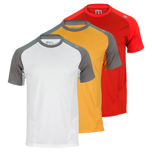 WILSON MENS SOLANA COLORBLOCK TENNIS CREW