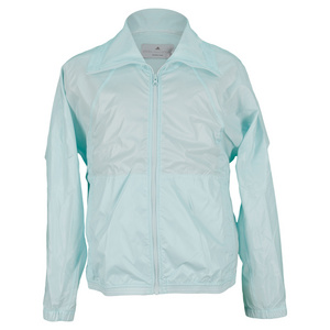 adidas GIRLS STELLA BARRICADE JACKET FRESH AQUA