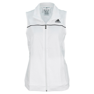 adidas WOMENS TENNIS SEQUENCIALS VEST WHITE
