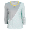 ADIDAS Women`s Stella McCartney Barricade Long Sleeve Tennis Top Universe