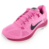 NIKE Women`s Lunarglide+ 5 Run Shoes Red Violet