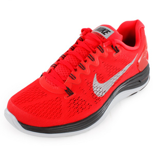 NIKE MENS LUNARGLIDE+ 5 RUNNING SHOES LT CRIM