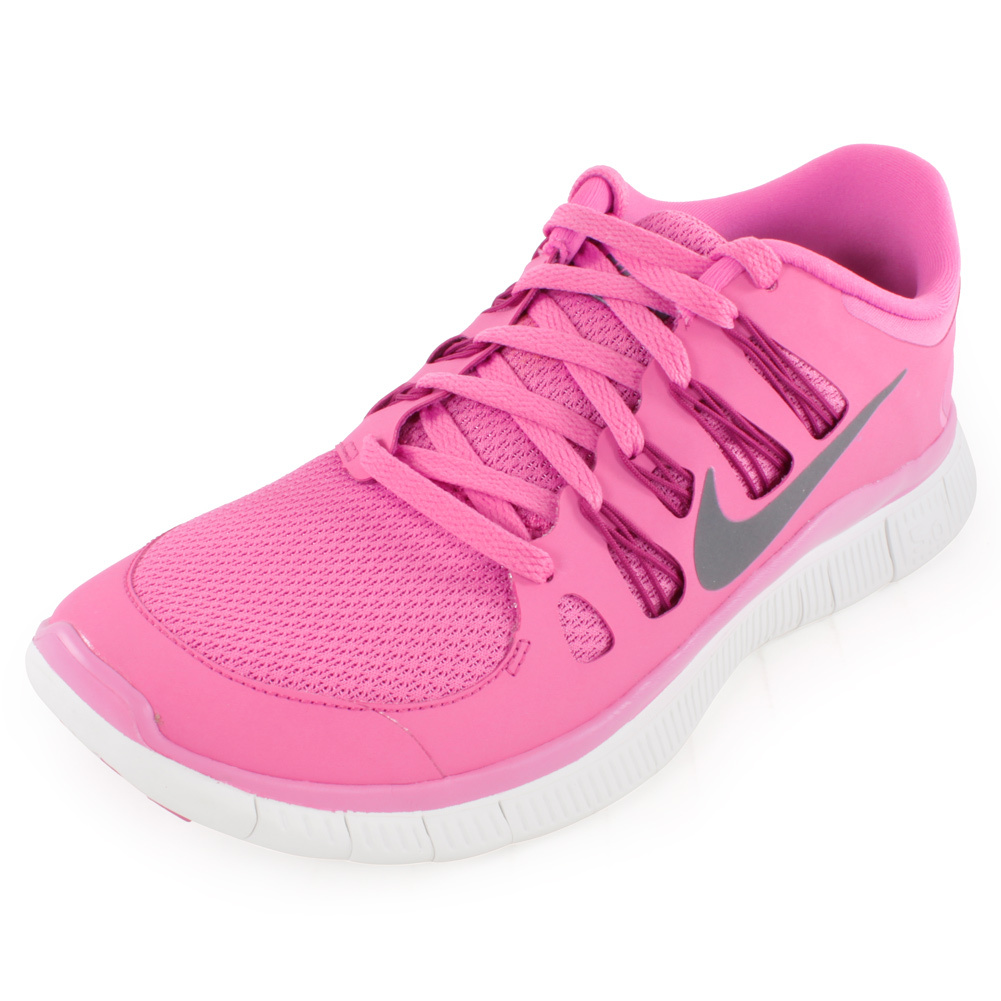 Women`s Free 5.0+ Running Shoes Red Violet