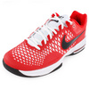 NIKE Men`s Air Max Cage Tennis Shoes University Red