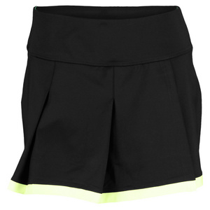 BOLLE WOMENS MOJITO 13.5 IN TENNIS SKORT BLACK