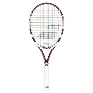 BABOLAT DRIVE LITE BLACK AND PINK TENNIS RACQUET