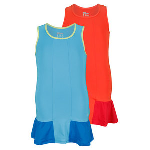 WILSON GIRLS SOLANA RUFFLE TENNIS DRESS