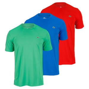 LACOSTE MENS SS SUPER DRY CREWNECK TENNIS TEE