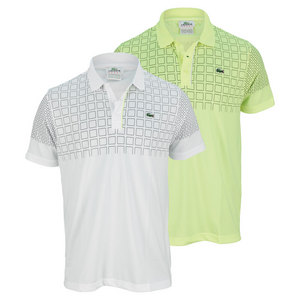 LACOSTE MENS ULTRA DRY COLOR BLOCK TENNIS POLO