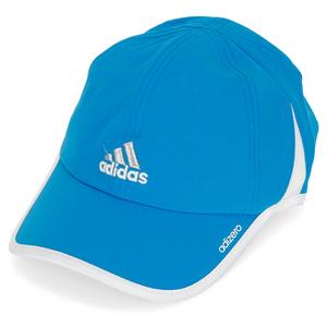 adidas WOMENS ADIZERO II TENNIS CAP SOLAR BLUE