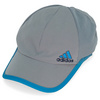 ADIDAS Adizero Crazy Light Tennis Cap Tech Gray and Solar Blue