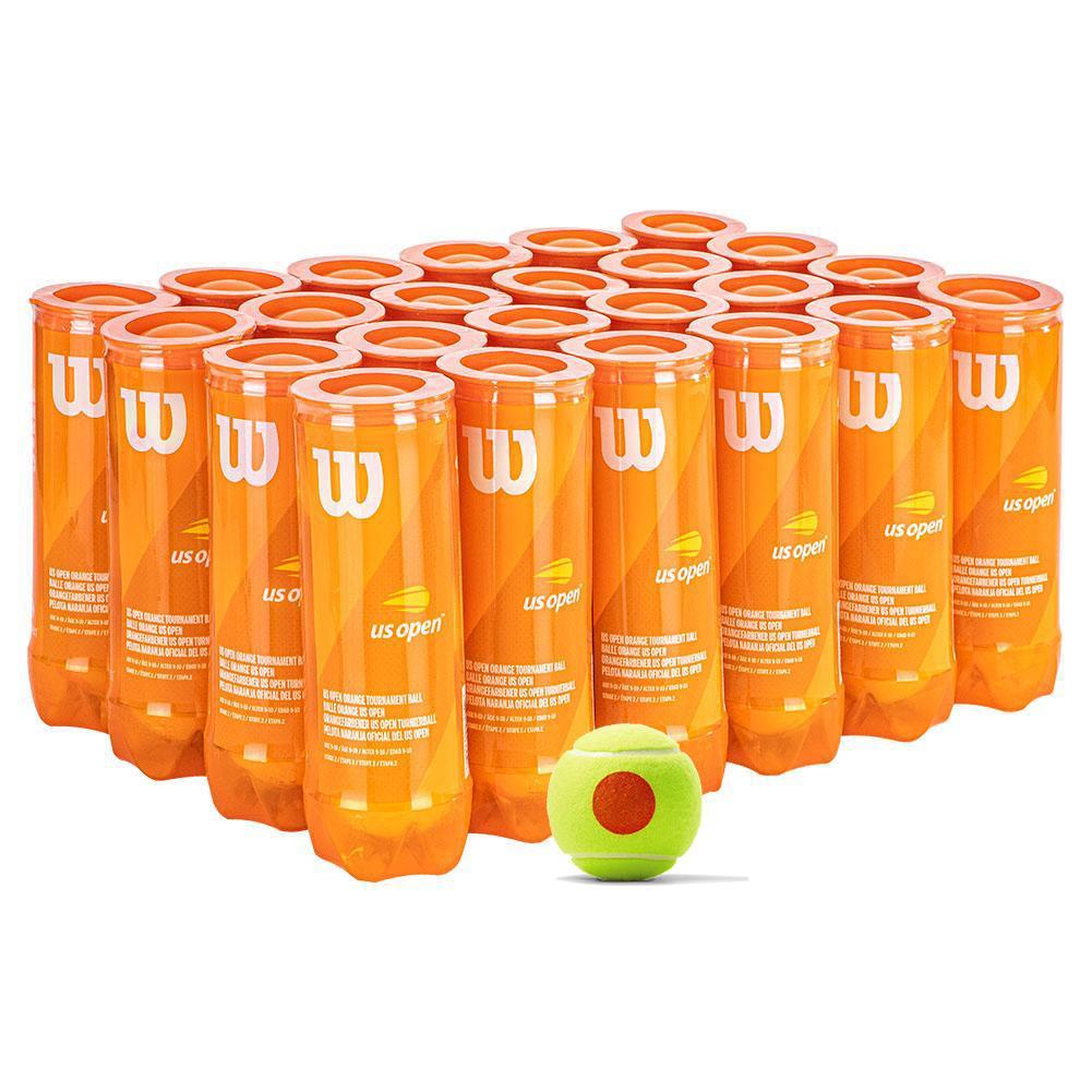 Wilson US Open Orange Tournament Tennis Ball Case