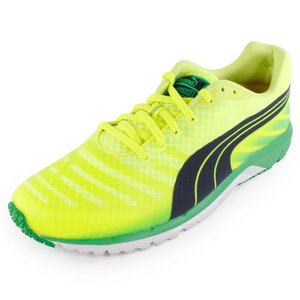 PUMA MENS FAAS 300 V3 RUN SHOE FL YL/IS GRN