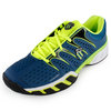 Men`s Bigshot II Tennis Shoes Blue and Green by K-SWISS