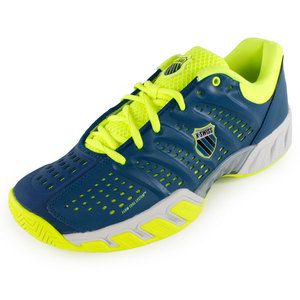 K-SWISS MENS BIGSHOT LIGHT SHOES BLUE/GREEN