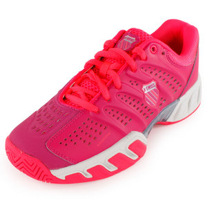 K-SWISS JUNIORS BIGSHOT LIGHT SHOES RED