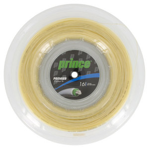 Premier Control 16G 660Ft Tennis String Reel Natural