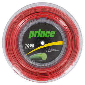 Tour XP 16G 660 Feet Tennis String Reel Red