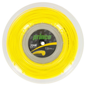 PRINCE TOUR XC 15G TENNIS STRING REEL YELLOW