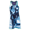 VICKIE BROWN Women`s Love Story Tennis Dress Blue and Lime