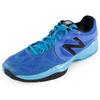 Men`s 996 D Width Tennis Shoes Cobalt by NEW BALANCE