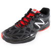 Men`s 996 D Width Tennis Shoes Black by NEW BALANCE