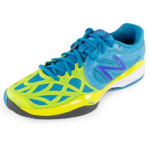 Women`s 996 B Width Tennis Shoes Blue
