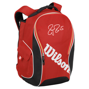 WILSON FEDERER PREMIUM TENNIS BACKPACK RED