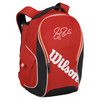 Federer Premium Tennis Backpack Red by WILSON
