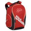 WILSON Federer Premium Tennis Backpack Red