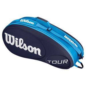 WILSON TOUR 6 PACK TENNIS BAG BLUE MOLDED