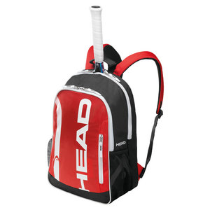 HEAD CORE TENNIS BACKPACK RED AND BLACK
