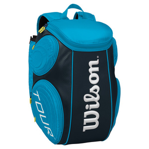 WILSON TOUR LARGE TENNIS BACKPACK BLUE MOLDED