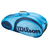 Team 6 Pack Tennis Bag Blue by WILSON