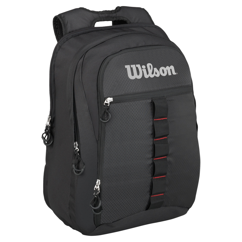 Outdoor Tennis Backpack Black And Gray