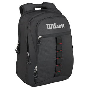 WILSON OUTDOOR TENNIS BACKPACK BLACK AND GRAY