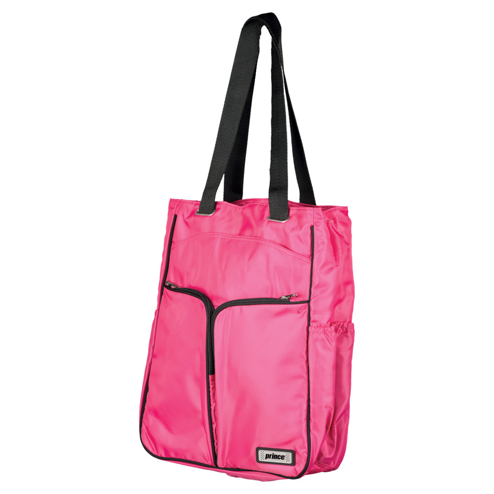 Women's Courtside Tennis Tote Pink And Black