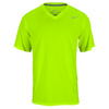 NIKE Men`s Legend V Neck Short Sleeve Training Tee Volt